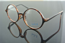 Vintage Round Amber Man Women Reading Glasses 100 125 175 200 250 275 400 500