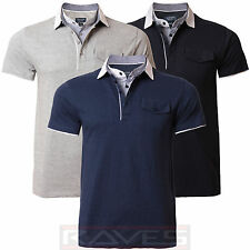 Mens Polo Shirt T-shirt Emporio Designer Short Sleeved Summer Top CAIRNS