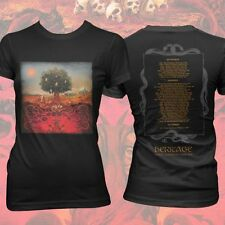 Opeth Heritage Tree Swedish Metal Official New Ladies Skinny Fit Tee Size Small