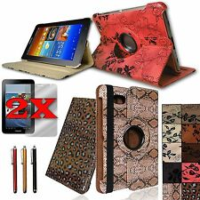 For Samsung Galaxy Tab2 7.0  PU Leather Case Cover Stand plus Accessories