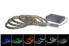 LED Strip Light+Controller With Battery Box Flash Chasing Knight Rader billboard