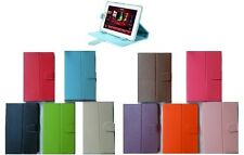 "7"" 8"" 9"" 9.7"" 10"" Inch Universal Folio PU Leather Case Cover Stand For Tablet PC"