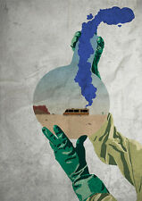 Breaking Bad RV in test-tube A3 /A4 Print Poster
