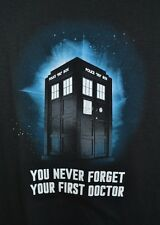 Doctor Dr Who Tardis Adult T-Shirt Officially Licensed Merchandise Ripple Juncti