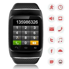 Touch Smart Watch Phone Call SMS Music Weather Bluetooth Sync For iPhone Android