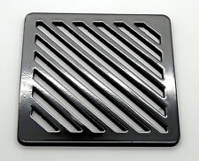 """4"""" Square Metal steel Gully Grid Heavy Duty Drain Cover like cast iron, stronger"""