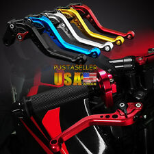US Ship 1 pair Brake Clutch Levers For BUELL XB12 all models up to 08 only 04-08
