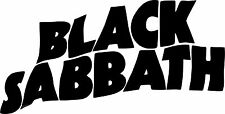 Black Sabbath - Vinyl Sticker Decal - auto Car Funny