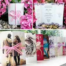 Personalised Wedding Invitations & Evening Invites with Envelopes ★ Handmade