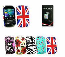 Stylish Clip On Case Cover for Various Blackberry Models & Screen Protector