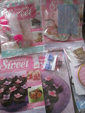 DeAGOSTINI SOMETHING SWEET MAGAZINE BINDER CAKE SWEETS & CHOCS PARTY ISSUE 1-25