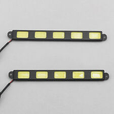 2X New Ultra-thin Car COB LED DRL Daytime Running Decorative Lamp Bright 12V EP