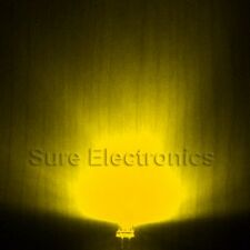 3mm 2pin Round top Yellow Super-Bright Leds Lamp Light 10 pcs - 100 pcs