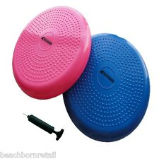 Balance Disc Stability Cushion w/ FREE Air Pump From BEACHBORN(TM) Blue/Pink 14""