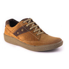 US 7-11 NEW GENUINE SUEDE LEATHER LACEUPS- leather Lining and rubber sole