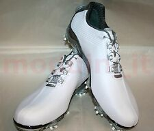 BRAND NEW FOOTJOY 2014 D.N.A. w/BOA GOLF SHOES FOR MEN #53469 (WHITE/GREY)
