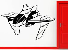 Wall Stickers Vinyl Decal Allien Fighting Spaceship Cool Space Decor (z2362)