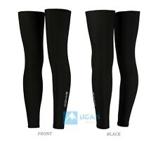 Bicycle Leg Warmers Covers Knee Sleeves UV Non-slip Running Bike Cycling 1 pair