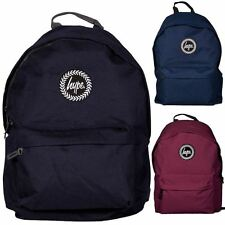 Newly listed Hype Backpack Rucksack Bag - Black, Burgundy, Navy Blue