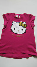 T-Shirt HELLO KITTY M & S Séquin Rose BNWOT