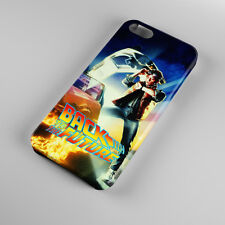 Back To The Future 3 Delorean For iPhone 5s 5 4S 4 Hard Case Cover