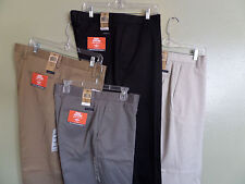 NWT Men's DOCKERS Classic Khaki D3 - Flat Front - Individual Fit Waistband