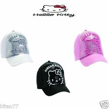 Hello Kitty Pink Hat Hello Kitty Black Hat Hello Kitty White Hat Baseball Cup