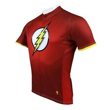 New Mens Cycling Jersey Bike Clothing Rider Shirt Paladinsport The Flash 2014