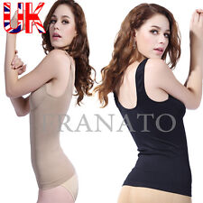Seamless Body Shaper Tummy Tucker Vest Slimming Cami Tank Top Shaping Camisole