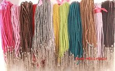10/100 Pcs  Pure Hand-Woven Braided Leather Cord Make Necklace Or Bracelet 3mm