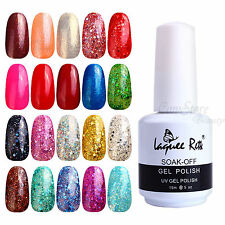 120 Colors 15ml Nail Art Tips Glitter Soak Off UV Gel Polish LED Lamp NLR61-80