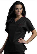 Peaches 'Med Couture Sport Neckline Top' Scrub Top