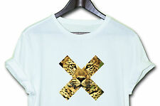 X LEOPARD  TEE HIPSTER INDIE SWAG FUNNY T SHIRT TOP CLOTHING MEN'S WOMEN'S