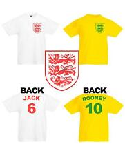 KIDS ENGLAND WORLD CUP FOOTBALL T SHIRT BRAZIL 2014 BUY 2 or MORE get FREE POST