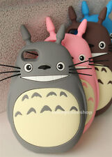 "Fashion Cartoon My Neighbor Totoro Silicone Case cover for iphone6 plus 4.7"" 5s"