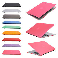 "Satin Hard Case Rubberized keyboard Cover For Macbook Pro / Air 11"" 13"" 15"" inch"