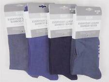 Bam Bamboo Clothing Solid Crew Luxury Women's Socks Size 9-11 W8