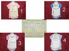 Precious Moments 4pc layette outfit set Boy Girl NWT