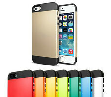 Coque style SPIGEN SGP SLIM ARMOR CASE COVER pour iPhone 4S / 5 / 5S / 5C / 6