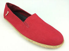 "VANS. ""Surf Siders"" BIXIE Women's Classic Fit Shoes. RED HEMP. US Women 11."