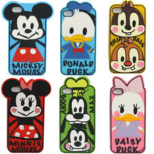 3D Super cute Cartoon Disney Image Silicone Case Cover for Apple iPhone 4 4S