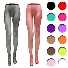 Womens ladies Fishnet pantyhose sexy stocking tights Small mesh reinforced toe