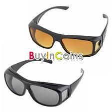 New 1pcs Unisex HD Vision Driving Sunglasses Wrap Around Glasses