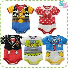 NEW BABY BOYS DISNEY CLOTHES PARTY OUTFIT PLAYSUIT BODYSUIT ONESIE SUIT GIFT SET