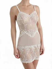 Wacoal Embrace Lace Chemise Nude S-XL, womens nightie nightwear slips embroidery