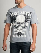 Rebel Saints by Affliction Graffiti Graphic Tee T-Shirt SOLD OUT! Limited!