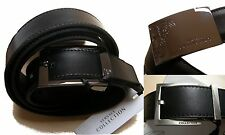 Men Belt Gianni Versace Jeans Mens Nwt Real Leather 100% 120 authentic 100%
