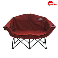 hmall nepa double portable foldable folded chair 7aaf105 camping
