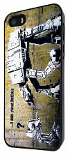 Banksy Star Wars Robot Case Cover iphone 6 iphone 4 4S 5 5S 5C Sony Xperia Z1 Z2