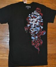 Zoo York Black Snake Adult Men's T-Shirt Tee Brand New with Tags